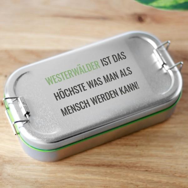 Westerwälder... Butterbrotdose für echte Wäller