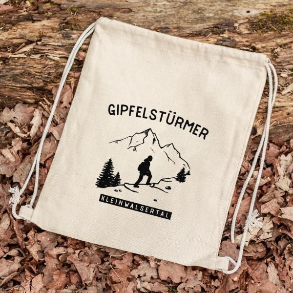 Turnbeutel Sportbeutel Rucksack Outdoor Wald Berge wandern Wanderer