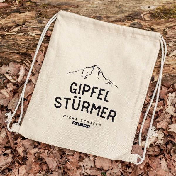 Turnbeutel Sportbeutel Rucksack Outdoor berge Gipfelstürmer